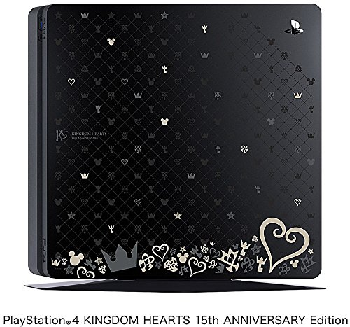 PlayStation 4 ジェットブラック1TB【数量限定キングダムハーツ15周年記念オリジナルデザイン刻印トップカバー同梱モデル】 KINGDOM HEARTS 15th ANNIVERSARY Edition(CUH-2000BB/KH) B06WGPPGJM