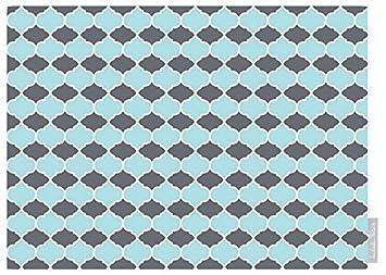 Luxuriös Designer Marokkanische 100% Baumwolle Tischläufer   Badi   Grau    U0026quot;Marrakeschu0026quot;