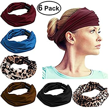 Amazon.com   FRCOLOR Wide Sport Headband f784e013699