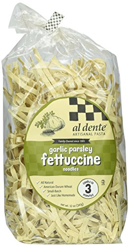 - Al Dente Garlic Parsley Fettuccine, 12 oz