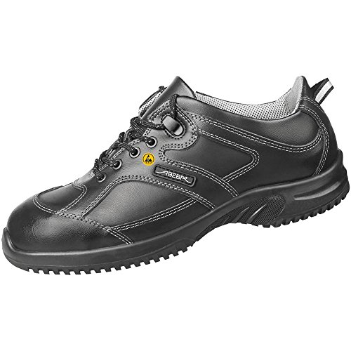 Abeba 31771-45 Uni6 Chaussures de sécurité bas ESD Taille 45 Noir