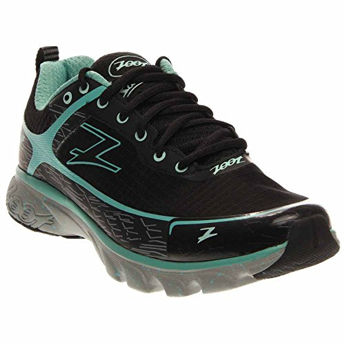 Zoot Women's W Solana ACR Running Shoe, Black/Lagoon, 9 M US