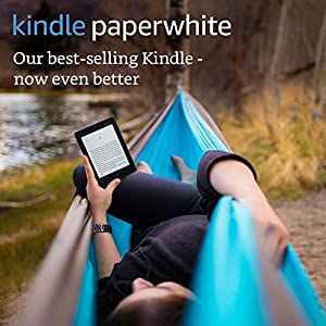 "Kindle Paperwhite E-reader, 6"" High-Resolution Display (300 ppi) with Built-in Light, Wi-Fi (Black) - Includes Special Offers"