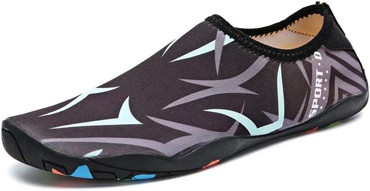 HangFan Men-Women Breathable Sailing Up Beach Water Shoes Quick Drying Aqua 4 UK