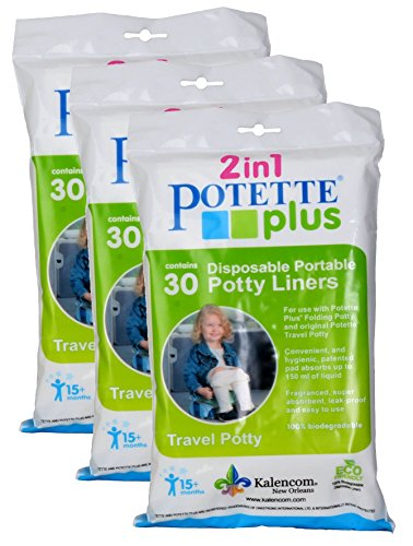 Kalencom Potette Plus Liners (90 Count) (Refills Liner Potty)