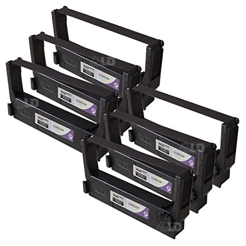 - LD Compatible POS Ribbon Cartridge Replacements for Epson ERC-23P (Purple, 18-Pack)