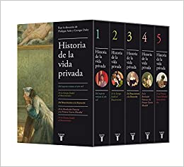 Estuche Historia de la vida privada: Philippe; Duby, Georges ...