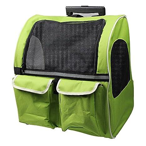GUO@ Mochila para mascotas Bolsa para perros Bolsa para mascotas Bolsa para carretas Bolsa para