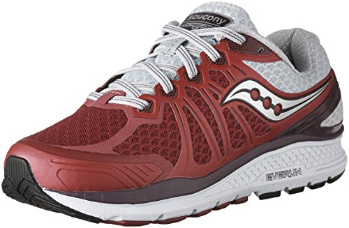 6 Berry Shoes Women's Grey Running Echelon Saucony 6EvxOq