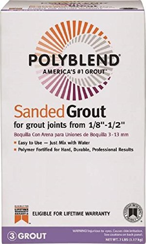 Oyster Gray Grout Sanded 7lb