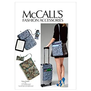 McCall Patterns M6668 Cell Phone/Computer Sleeves and Bags Sewing Template