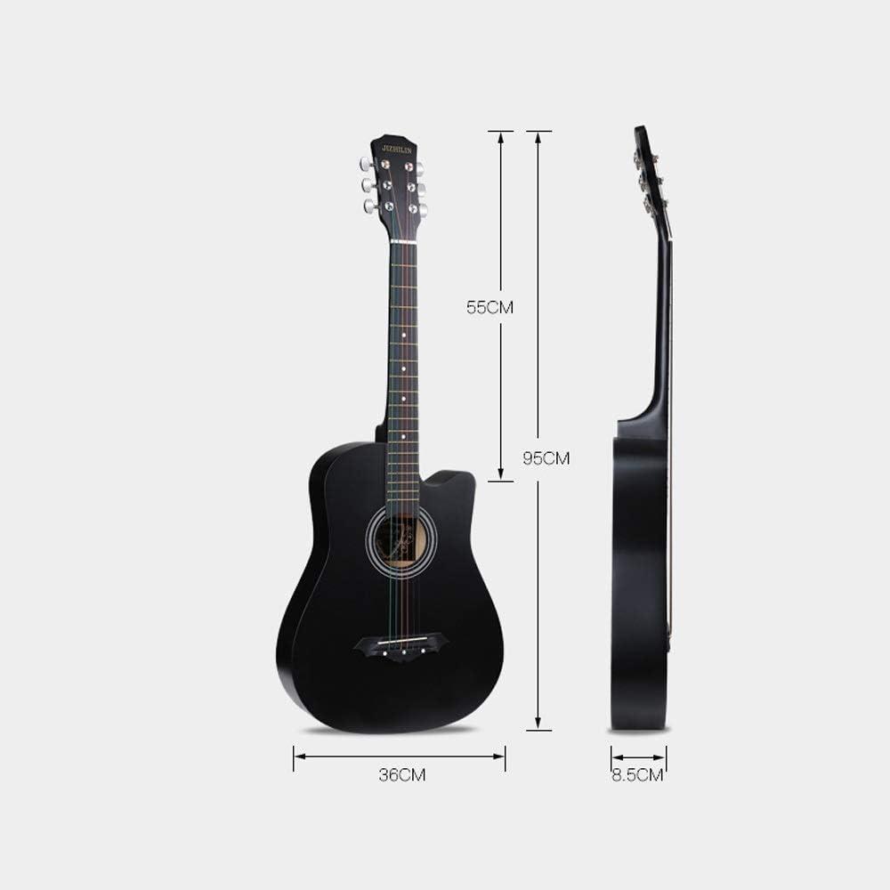 Boll-ATur Paquete de guitarra acústica for principiantes de 38