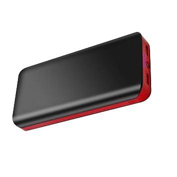 Batería Externa para Movil 25000mAh Power Bank Carga Rápida Cargador Portátil de Alta Capacidad con 2 Salidas USB 4 Indicadores LED para iPhone iPad ...