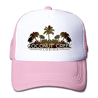 Coconut Florida Adjustable Baseball Cap Snapback Custom Mesh Trucker Hat from Swesa