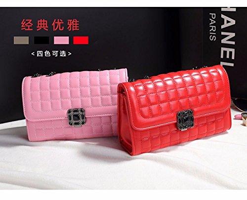 main XWAN unique Lady Sac diamant épaule Pink Fashion chaîne Nouvelle coréen à Sac épaule EqIEgwr