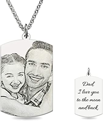 SUNNY Day Rectangular Heart-Shaped Necklace Personalized DIY Custom