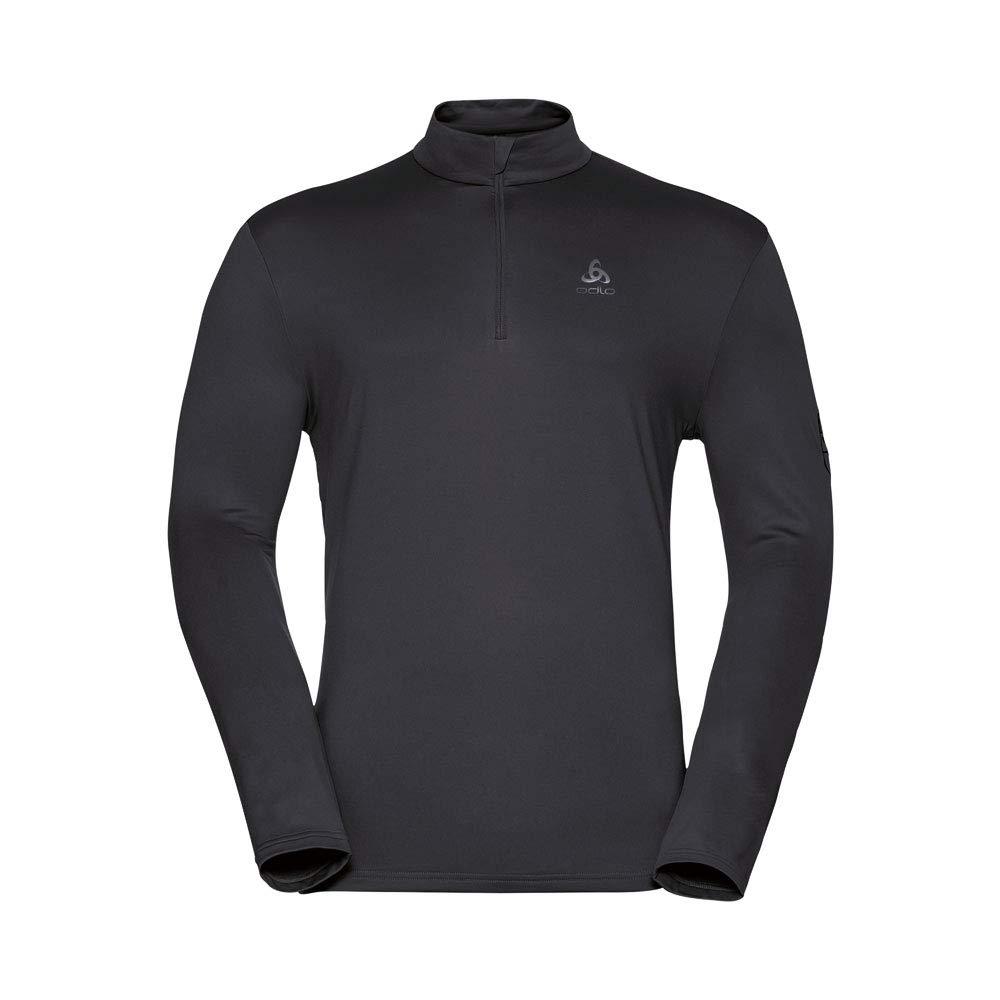 Odlo New Cavradi Midlayer 1 2 Zip Shirt - schwarz