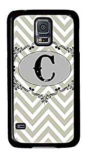 cool Samsung Galaxy S5 case Grey Chevron Pattern PC Black Custom Samsung Galaxy S5 Case Cover wangjiang maoyi