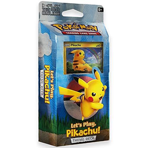 Pokemon TCG: Let's Play Pikachu Theme Deck (Pokemon Trading Card Game Best Deck)