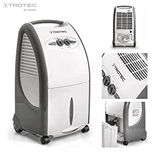Trotec 1120000075 TTK 75 S - Deshumidificador de aire para habitaciones de hasta 48 m², máximo 24 litros al día