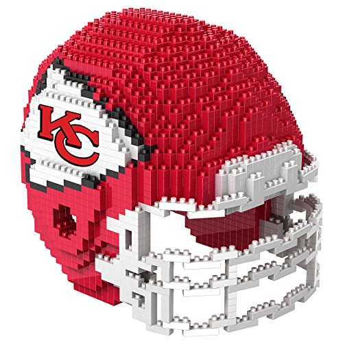 Kansas City Chiefs NFL 3D BRXLZ Construction Toy Blocks Set...