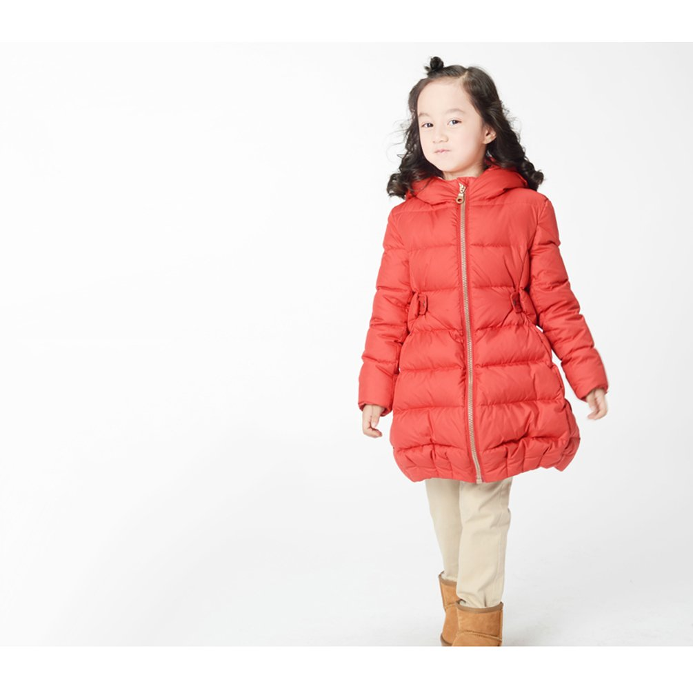 Nanny McPhee Kids Down Coat Baby Girls Warm Long Down Puffer Jacket Outwear Kids Clothing by Nanny McPhee (Image #6)