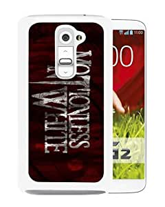 Unique And Durable Custom Designed Case For LG G2 With Motionless In White White Phone Case