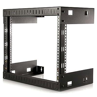 StarTech.com 8U Sideways Wall-Mount Rack for Servers - Side-Mount Server Rack for Easy Access