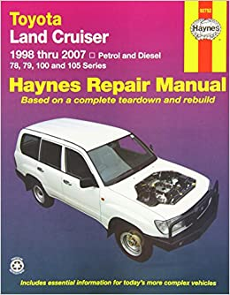 toyota landcruiser repair manual 2005 2007 haynes publishing