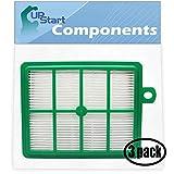 3-Pack Replacement for Electrolux EL012B S-Filter HEPA Filter - Compatible with Electrolux EL4650A, Electrolux EL7063A, Electrolux EL7085ADX, EL7080ACL, EL4300B, EL7083ASG, EL4305AZ, EL4103A, EL6986A