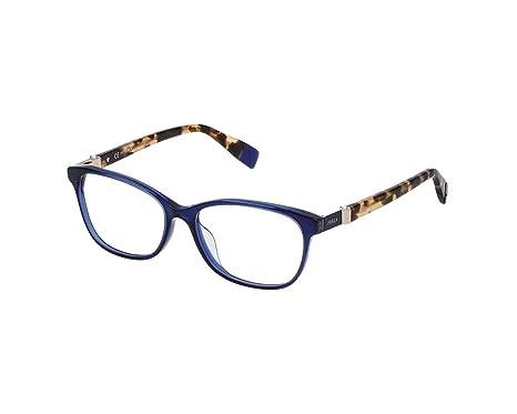 Furla Montures de lunettes VFU090S (bleu)  Amazon.fr  Vêtements et  accessoires 3a0a7f902899
