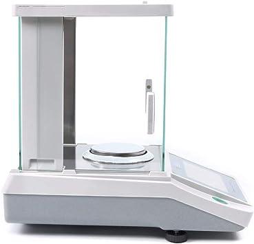ZCY Digital Laboratorio Análisis Balance Preciso 0.01g Balanza Electrónica para Joyería Oro Farmacia Planta Química ES1019 (Color : 300g/0.01g): Amazon.es: Hogar