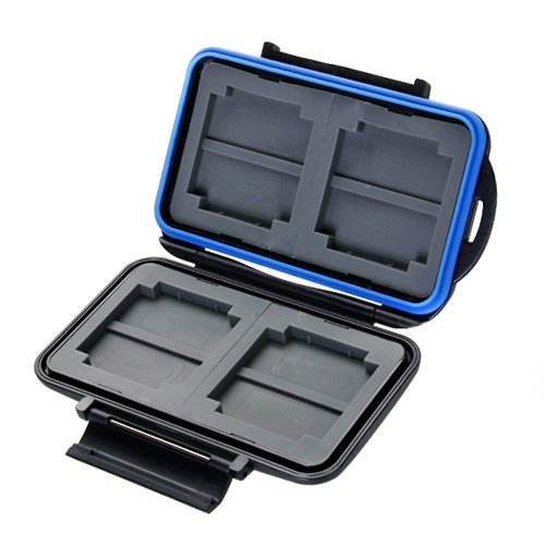 Memory Card Carrying Case Holder Hold 4 CF or 8 - Card Mspd