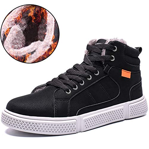 ts Waterproof Warm Fur Lined Non-Slip High Top Outdoor Shoes ()