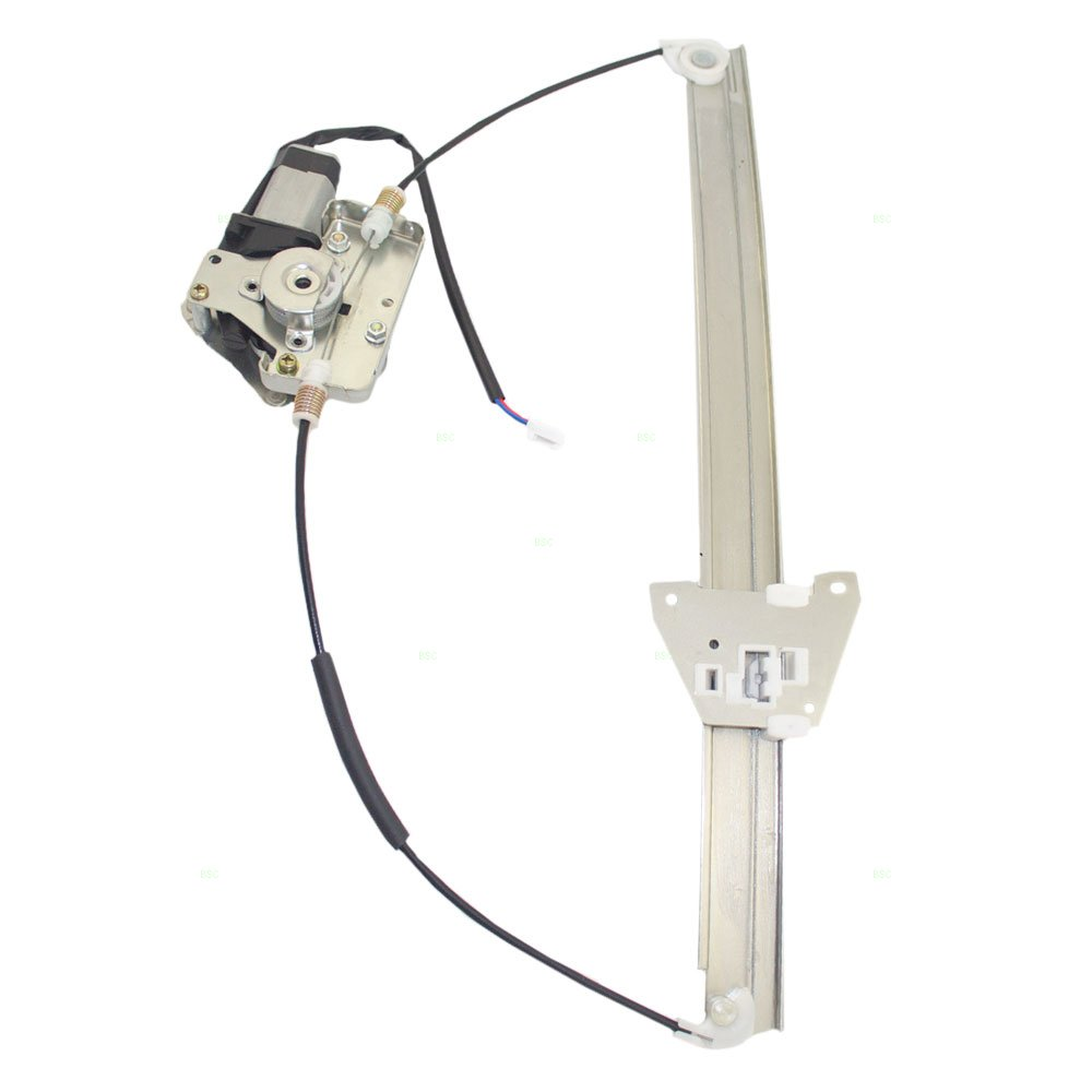 Power Window Lift Regulator with Motor Assembly Driver Front Replacement for 00-06 Mazda MPV Van LC6259590D