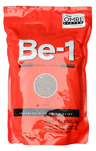 Be-1 Organic Fertilizer Pellets with Amino Acids Biostimulant, 2.2 lb (1 kg)