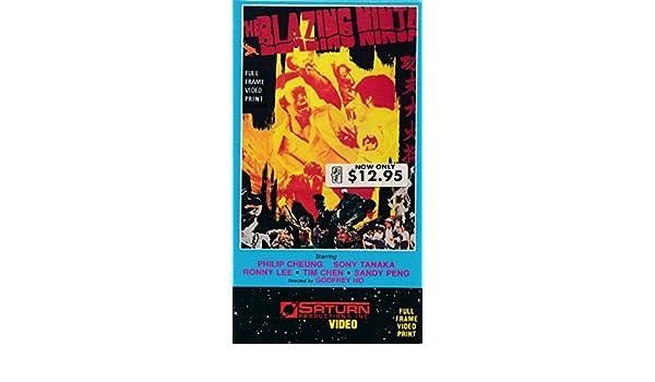 Amazon.com : The Blazing Ninja VHS Starring Philip Cheung ...