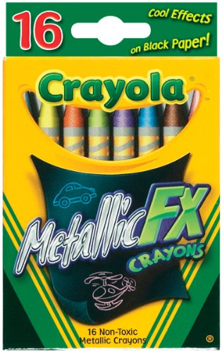 Crayola 16CT Metallic FX -