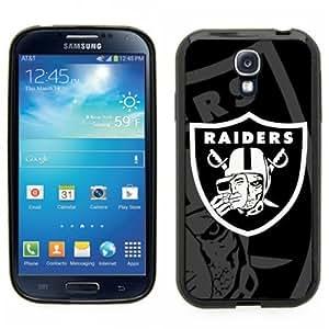 Samsung Galaxy S4 SIIII Black Rubber Silicone Case - Radier Nation Raiders Skull Logo Evil Raiders