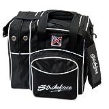 KR Strikeforce Flexx Single Bowling Bag- Black ()