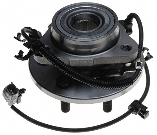 2003 For Dodge Durango Front Left Wheel Bearing and Hub Assembly x 1 (Note: 4-Wheel ABS) Proforce