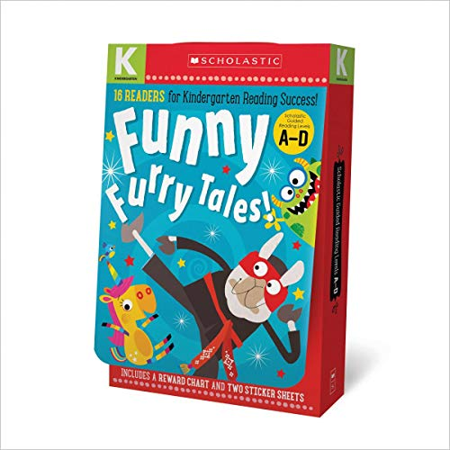 Kindergarten A-D Reader Box Set - Funny Furry Tales (Scholastic Early Learners) ()