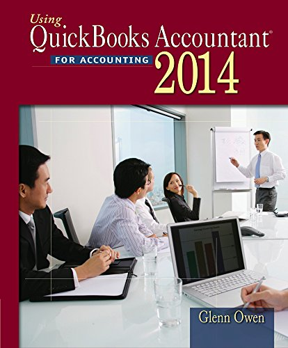 Using Quickbooks Accountant 2014 (with CD ROM)