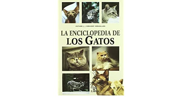 La Enciclopedia de Los Gatos (Spanish Edition): Esther Verhoef-Verhallen: 9788476308554: Amazon.com: Books