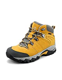 Clorts Women's Hiker Leather GTX Waterproof Hiking Boot Outdoor Backpacking Shoe HKM822