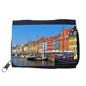 le portefeuille de grands luxe femmes avec beaucoup de compartiments // V00002826 Copenhague Nyhavn // Purse Wallet