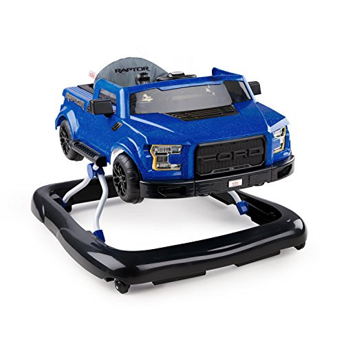 Bright Starts 3 Ways to Play Walker - Ford F-150 Raptor, Lightning Blue