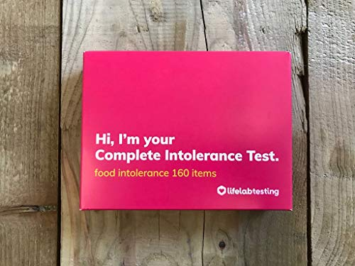 Lifelab | Complete Intolerance Testing Kit | at-Home, Easy Test, for Food and Drink Food Intolerance Testing Kit Dietary…