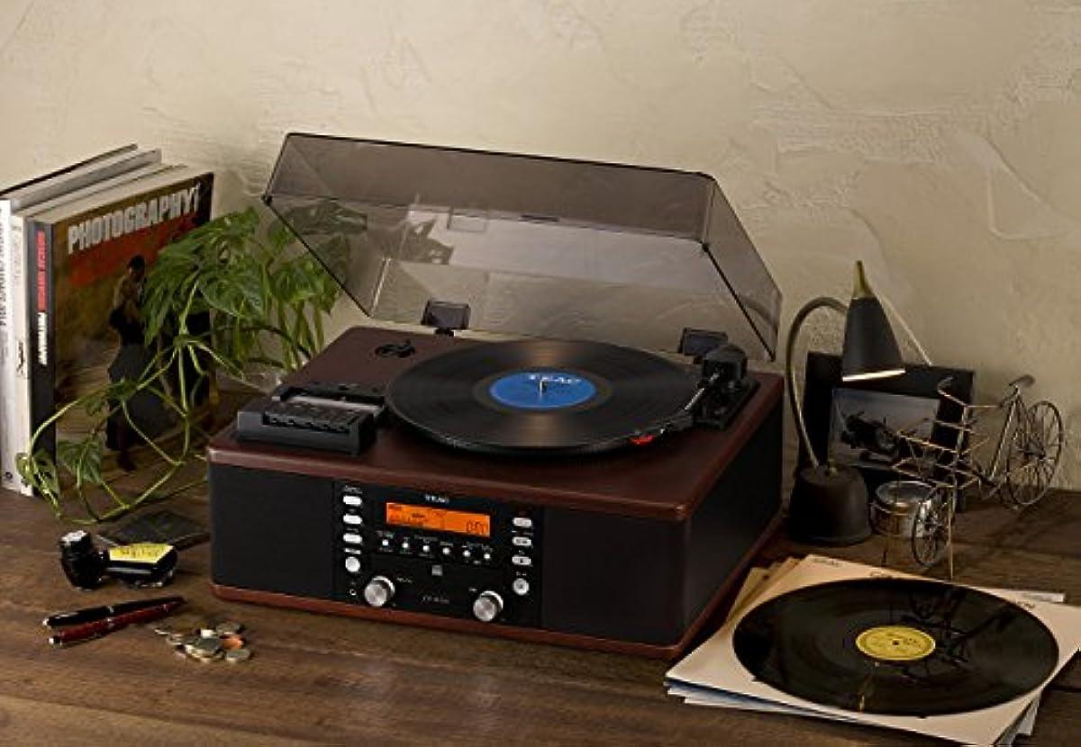[해외] 티악(Teac) 턴 테이블/카세트 플레이어부CD레코더TEAC LP-R520