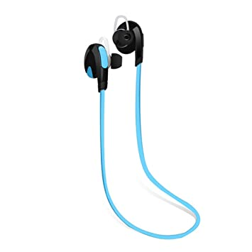 Hrph Auriculares Auriculares Bluetooth Handfree Stereo Blutooth 4.1 Auriculares inalámbricos para iPhone 7 Plus HUAWEI Mate 9: Amazon.es: Deportes y aire ...